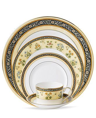 Wedgwood India 5 Piece Place Setting Fine China Dining