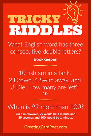 Tricky Riddles To Leave Your Friends Mystified Luckily Answers Provided Tricky Riddles Kids Jokes And Riddles Riddles
