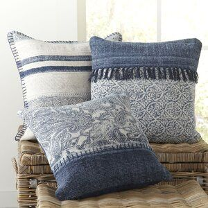 Pin By Lubna Jesmin On Pillow Cases In 2021 Diy Pillows Throw Pillows Living Room Blue Throw Pillows