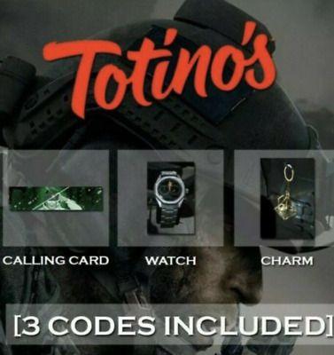 Call Of Duty Modern Warfare Totinos Dlc All 3 Get Em Quick Digital Callofduty Cod Gaming In 2020 Modern Warfare Call Of Duty Gaming Merchandise