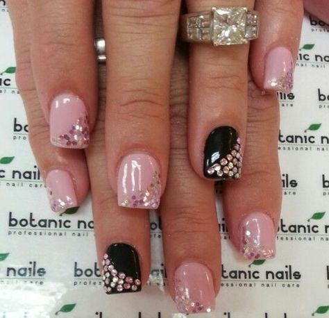 1001 Ideas For Nails With Rhinestones You Must Try This Year