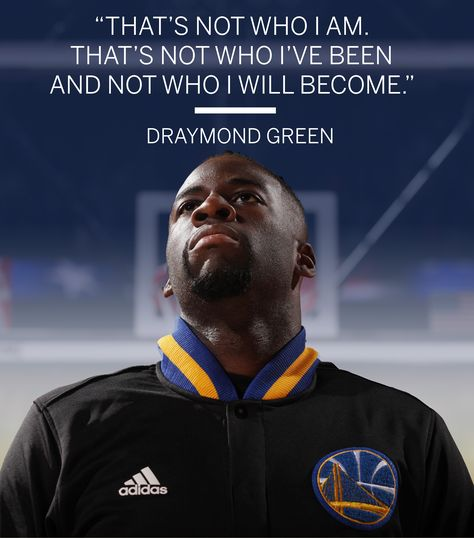 Draymond Green apologizes to the Golden State Warriors after his halftime tirade during a game against the Oklahoma City Thunder.