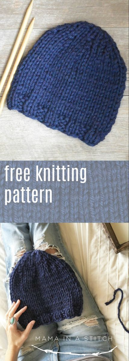 L It S This Length Ending On A Knit Row Decrease How To Decrease When Kni Knit Hat Pattern Easy Knitting Patterns Free Hats Knitting Patterns Free Beginner