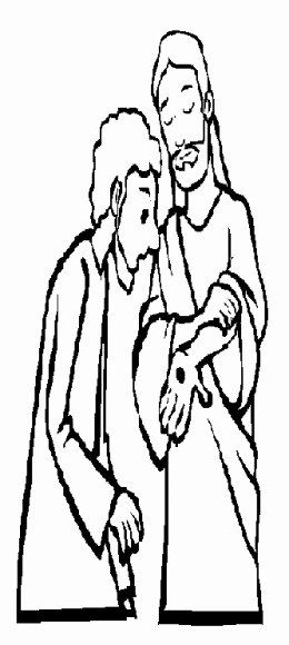 Doubting Thomas Coloring Page Lovely Bible Sunday School Stories
