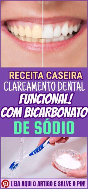 Clareamento Dental Caseiro Com Bicarbonato De Sodio Como Branquear