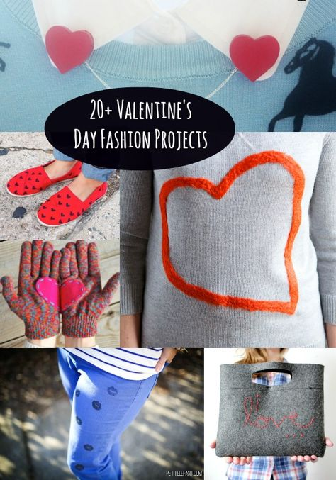 DIY Fashion For Valentine's: 20+ Sweet Projects - diycandy.com