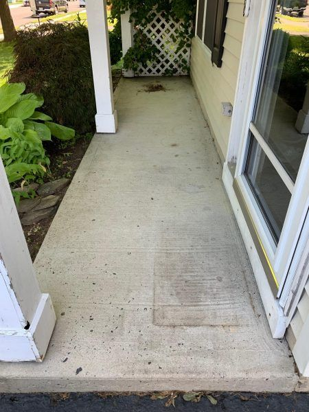 How To Paint A Porch Floor With Concrete Paint With Images