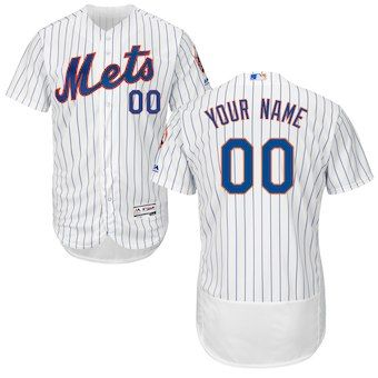 more photos f4bc5 59354 New York Mets Majestic Home Flex Base Authentic Collection ...