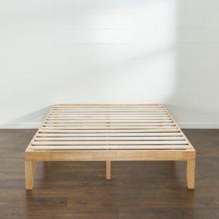 Red Barrel Studio Harney Platform Bed Frame Wooden Platform Bed