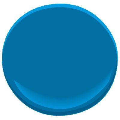 Bleu port de mer