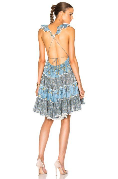 0e6044835ee Image 1 of Zimmermann Caravan Tiered Sun Dress in Splice