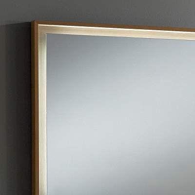 Specchio Da Bagno Con Luci Led.Specchio Luminoso Da Bagno Con Luci Led E Cornice In Legno Deba