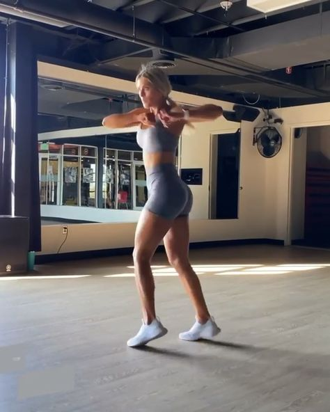 @whitneyysimmons at home HIIT workout
