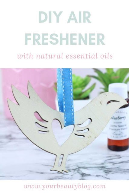Diy Hanging Air Freshener With Essential Oils Freshener Diy Air Freshener Diy Hanging