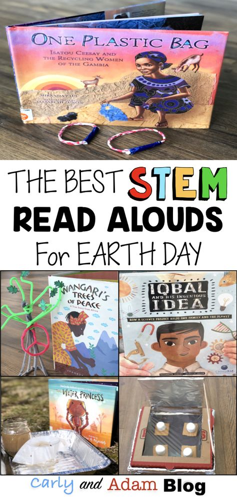The Best STEM Read Alouds and Activities for Earth Day