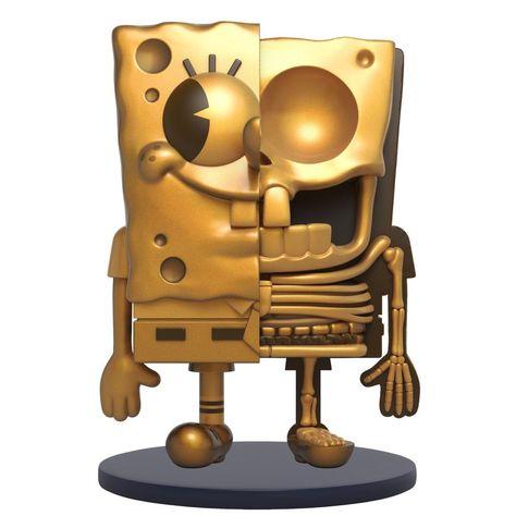 MIGHTY JAXX x Jason Freeny Hidden Dissectibles: Spongebob Squarepants (Classic Edition)