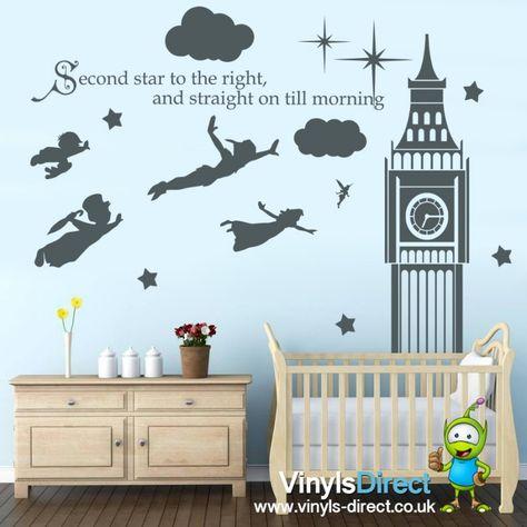 0e7823f09ac4 List of Pinterest big ben silhouette clock peter pan nursery images ...