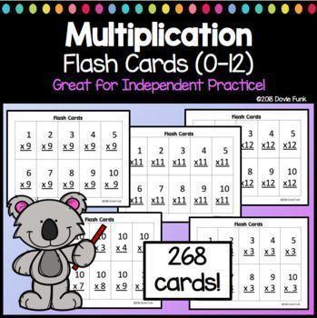 image regarding Printable Multiplication Flash Cards 0-12 called Multiplication Flash Playing cards Reality Prepare My Funky Initially