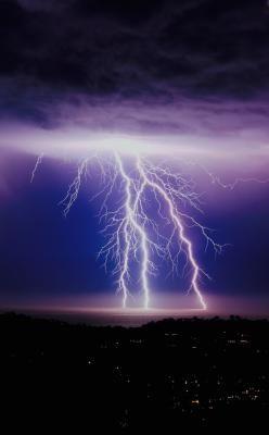 Lightning Hail And Power Outage Reports Edhat Rare Santa Barbara Lightening Storm March 5th 2019 Lightning Isla Vista Beautiful Nature