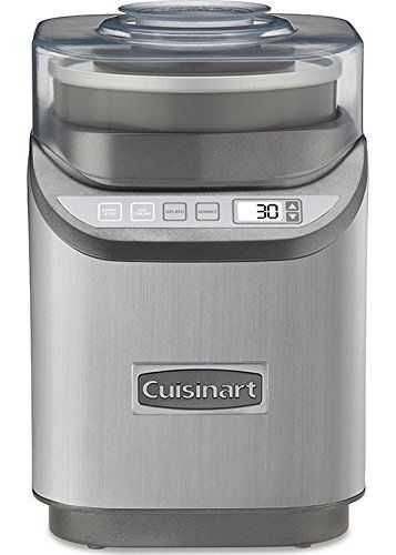 Cuisinart Ice 70 Electronic Ice Cream Maker Brushed Chrome Best Offer Ineedthebestoffer Com Best Ice Cream Maker Ice Cream Maker Best Ice Cream