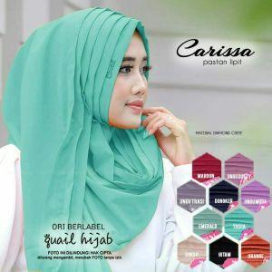 Jilbab Instan Lipit Pastan Bahan Diamond Crepe Ori Quail Hijab Luqihijab Hijab Jilbab Hijab Collection