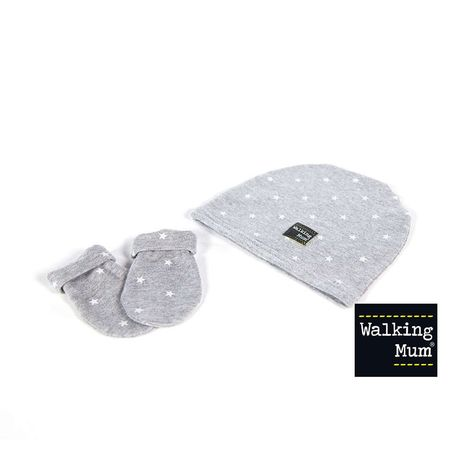 Walking Mum Gaby Gorrito color gris