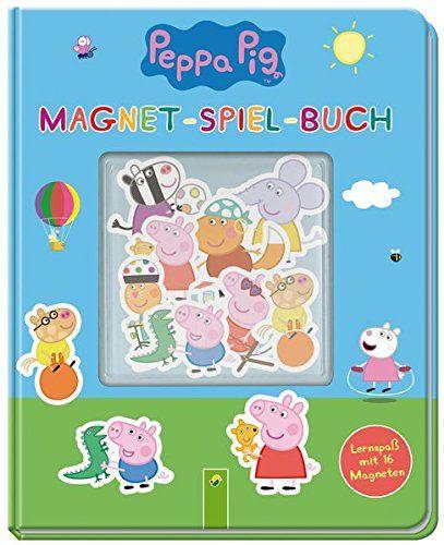 Peppa Pig Magnet Spiel Buch Lernspaaÿ Mit 16 Magneten Magnet Spiel Peppa Pig Peppa Pig