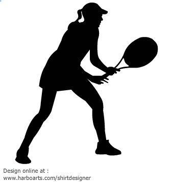 Tennis Clipart Free Clipart Images 2 Clipartcow Clipartix Clipart Clipartcow Clipartix In 2020 Free Clipart Images Tennis Players Female Tennis