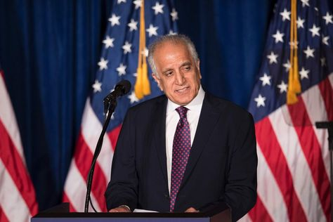 Zalmay Khalilzad, seen in 2016, has been tapped by Secretary of State Mike Pompeo to...