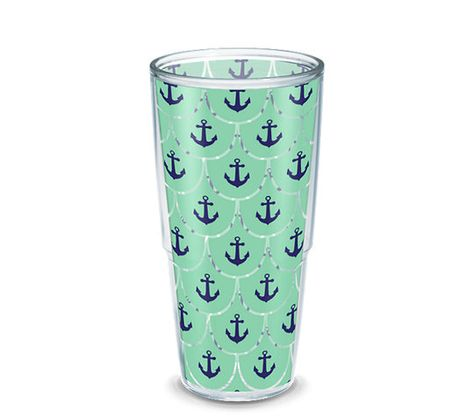 Anchors & Scallop Pattern - Tervis