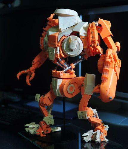 Robocop2 Movie Cain Action Figure 3d Printable Model 3d Print