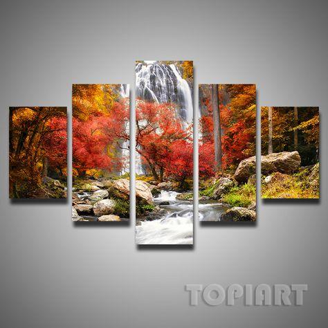 Multi Panel Canvas Paintings