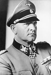 """Josef """"Sepp"""" Dietrich - Dietrich commanded the 6th Panzer Army in the Battle of the Bulge."""