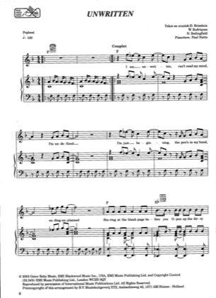 BEDINGFIELD MUSICA BAIXAR NATASHA - UNWRITTEN
