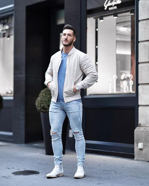 """Clément You on Instagram: """"Street style of the day 👊🏻💥 Wishing everyone a nice evening ✨✨ ____________ 📸: @wass_rzk _____________________________ #menwithstyle…"""""""