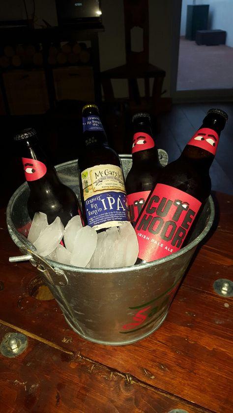 Irish craft beer bucket