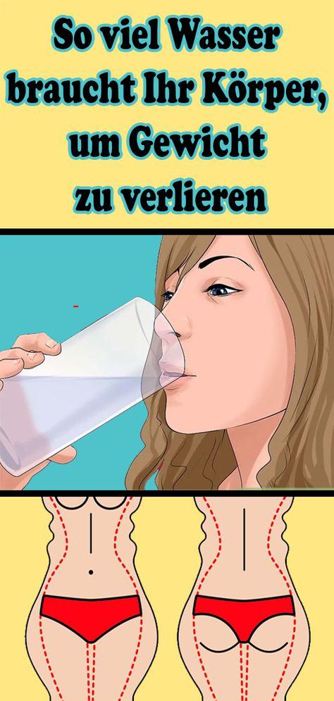 Wenn ich viel Wasser trinke, verliere ich Gewicht
