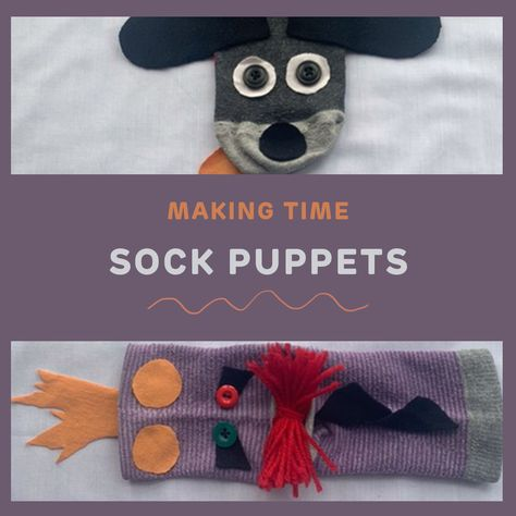 Tell wonderful stories and create fantastic sock puppets in this new Making Time tutorial.