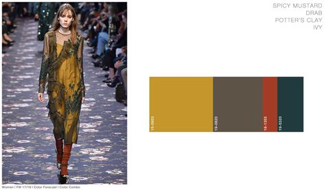 5 Fashion Color Trends AW translated into Interior Design - Eclectic Trends