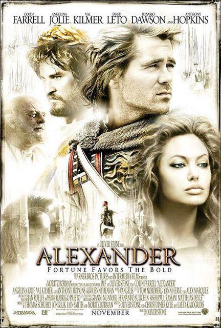 El Descanso Del Escriba Alexander De Oliver Stone 2004 Resena Alexander Film Alexander The Great Movie Alexander 2004