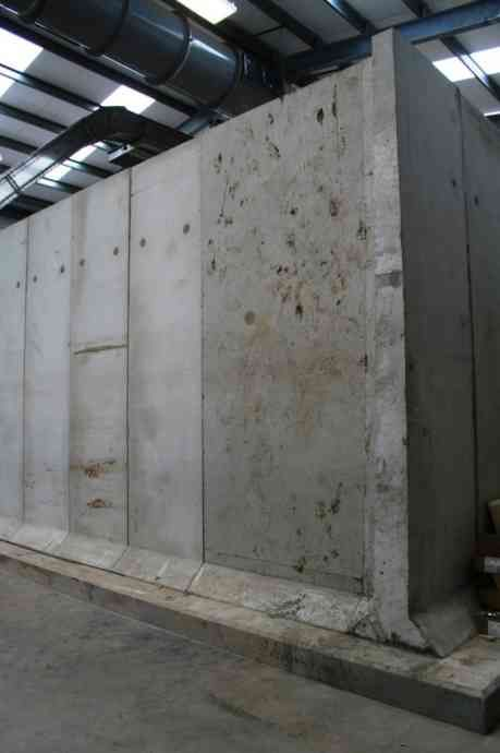 Free Standing Retaining L Walls Moore Concrete In 2020 Exterior Wall Design Precast Concrete Free Standing