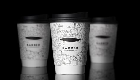 Caparo Design Crew Create Branding for Barrio Cafe - The Neighbourhood Within The Neighbourhood - World Brand Design Society