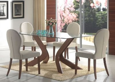 How To Choose And Decorate A Glass Top Dining Table Interior Meja Makan