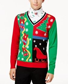 Macys Christmas Sweaters.Mens Ugly Christmas Sweaters Shop For And Buy Mens Ugly