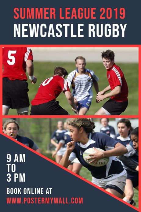 Create Amazing Posters And Flyers For Rugby Matches By Customizing Easy To Use Templates Browse Through Thousands Of Rugby Poster Rugby Social Media Graphics