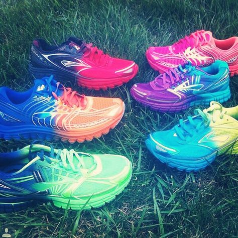 Brooks Ombré Running Shoes
