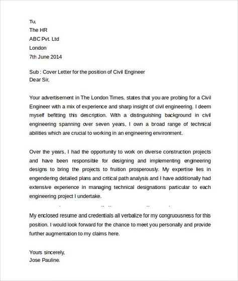 education cover letter download free documents word pdf your company - fresh undertaking letter format for company