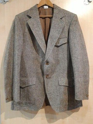 Marynarka Brazowa Rozm L Xl 7721005148 Oficjalne Archiwum Allegro Fashion Blazer Jackets