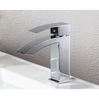 Dowell Waterfall Single Hole Bathroom Faucet Faucet Relaxation