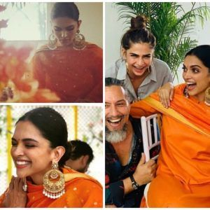 Deepika Padukone Glows In Sabyasachi As The Deepveer Wedding Festivities Begin With Nandi Puja Hungryboo Deepika Padukone Wedding Wedding Of The Year
